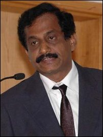 Mr. Nadesapillai Vithyatharan, editor of the Uthayan newspaper
