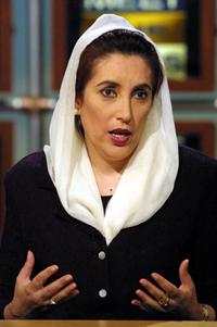 베나지르 부토 (전 파키스탄 총리, 2007년 12월 암살당함)
