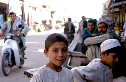 탈레반의 본고장 칸다하르 거리에는 여성들을 좀처럼 볼 수 없다 (Photo by Lee Yu Kyung)