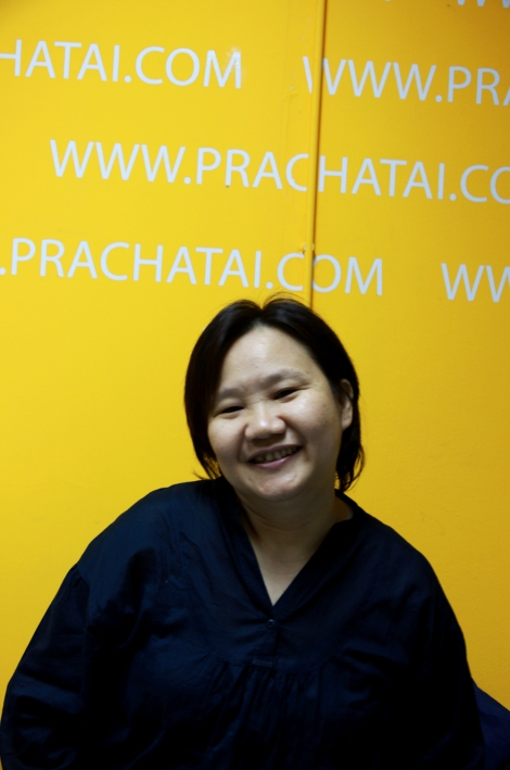 "Ms.Chiranuch Premchaiporn, an editor of the independent website Prachatai in Thailand. While the website has been blocked by the authority, she was arrested at the airport on arrival from ""Internet Liberty 2010″ conference in Hungary under the Computer-related Crimes Act and Lese Majest law. Amnesty International, which deems to be reluctant to criticize the country's severe lese majeste law, has termed Chiranuch Premchaiporn as a prisoner of conscience while she was detained before being released on bail. (Photo @ Lee Yu Kyung)"