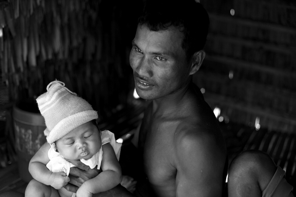 Tonle Sap village, Cambodia / Photo @ Lee Yu Kyung 2012