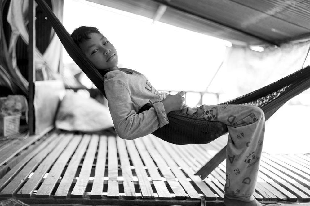 Tonle Sap village, Cambodia / Photo @ Lee Yu Kyung 2012