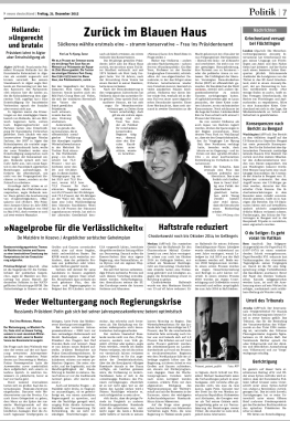 Tearsheet of the article published by Neues Deutschland on December 21