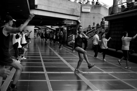 Aerobic (3), Bangkok / Photo © Lee Yu Kyung 2013