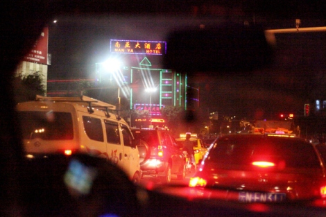 Yin Jiang is border city in China side. It's the first transit spot for human trafficking to China. (Photo © Lee Yu Kyung)