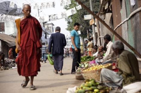 치타공 산악지대 반다르반 타운. 버마 정부와 라카잉 조직들은 방글라데시 라카잉족을 포함한 줌마족 불교도들을 아라칸 무슬림 주류 지역 '모델촌'으로 정착시키면서 갈등의 씨앗을 뿌리고 있다 (Photo  © Lee Yu Kyung)