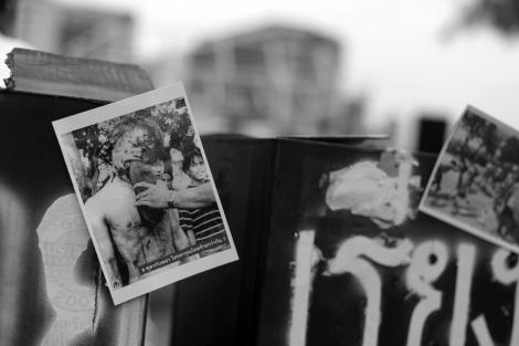October 6 Massacre, 38th '혹 뚤라' 탐마삿 학살 38주년 (Photo © Lee Yu Kyung 2014)