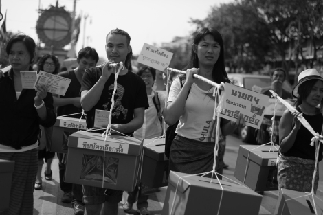 Ballot Box on the Street (© Lee Yu Kyung 2015)