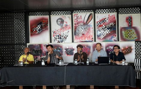 Press conference supporting Sutee on May 26 (Photo courtesy : Prachatai)